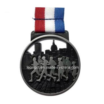 Wholesale 3D Marathon Running Medal Custom