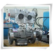 """Válvula de pressão balanceada de pressão invertida pneumática (PN6-10 """")"""