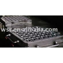 Fabricação do molde de borracha