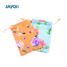 New Design Microfiber Suede Glasses Pouch