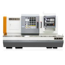 Flat Bed Metal Machining Horizontal CNC Lathe Machine