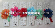 MXF0155 Shoes Accessories Lace Gauze Drill Yarn Ribbon Children Headband