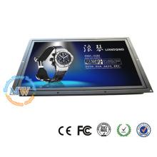 1440X900 résolution 17 pouces cadre ouvert moniteur LCD HDMI VGA DVI avec 12 V DC entrée