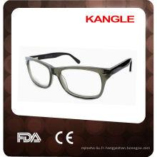 2015 cadre à la mode optique aceate / cadre de lunettes