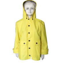 New popular designed waterproof jacket fashion raincoat