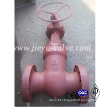 1500lb Gate Valve Gear Operated