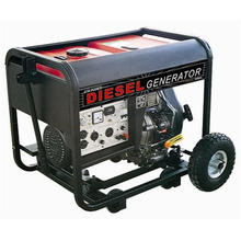 4kw Manual Key Electric Start Diesel Generator Set
