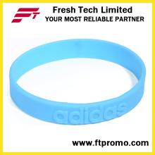 Art- und Weisesport-Silikon-Armband mit besonders angefertigt