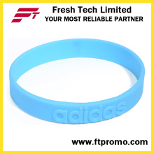 Forme el silicón de los deportes Wristband con modificado para requisitos particulares
