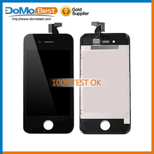 2015 Lowest price AAA lcd screen digitizer display lcd screen for iphone 4 assembly
