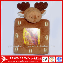 Funny reindeer baby photo frame