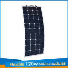 2016 New Design Sunpower Flexible Solar Panel 120W