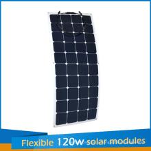 2016 новый дизайн компанией sunpower гибкие солнечные панели 120 Вт