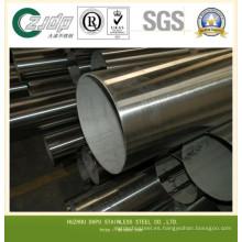 304 Tubo de acero inoxidable 316L sin costuras
