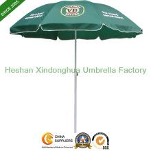 Parasol de plage promotionnel 52 pouces avec coupe-vent côtes (BU-0052W)