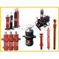 hydraulic cylinder with pump