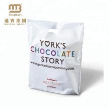 China Hersteller Günstigen Preis Supermarkt Shopping Verpackung Patch Griffe Kunststoff Ldpe HDPE Taschen mit individuellem Druck