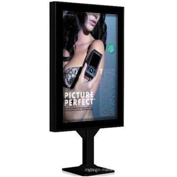 Caja de luz de desplazamiento de alta calidad para la muestra de publicidad Gd05