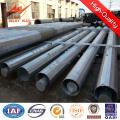 Economical 132kv Bitumen Galvanized Steel Pole