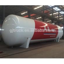 Transport de gaz de pétrole liquéfié 3 essieux 56 m3 LPG citerne de réservoir / GPL remorque de transport / GPL semi-remorque