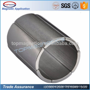 High Grade Arc Neodymium Motor Magnet
