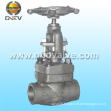 API Forged Steel Integral Flanged Globe Valve (J61H)
