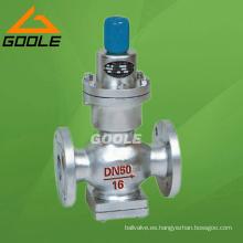 Válvula reductora de presión de fuelle de acción directa (GAY44H / Y)