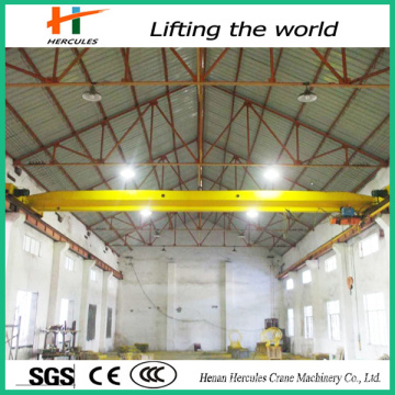 China Suppiers Bridge Crane 10 Ton 60 FT Span, Top Running Double Girder Cranes