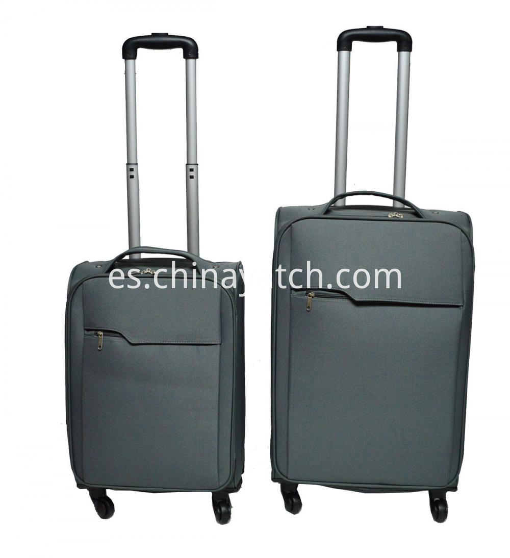 2 Pieces Trolley Case