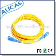 LC FS SC simplex duplex singlemode multimode fiber optic patch cord / jumper cable / pigtail cable