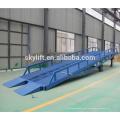 Prateleira de mercadorias, carga de contêineres e rampas móveis / rampas de carga