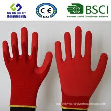 Foam Latex Coated Gardening Work Safety Gloves