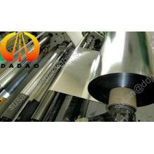Химически обработанная металлизированная пленка BOPET - нанопокрытие