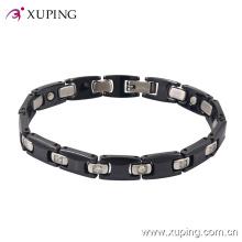 74447 Mode Nouveau produit Cool Rhdodium-plaqué bijoux Bracelet en céramique