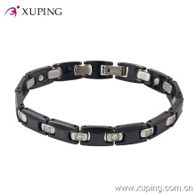74447 Fashion New Product Cool Rhdodium -Plated Ceramic Jewelry Bracelet