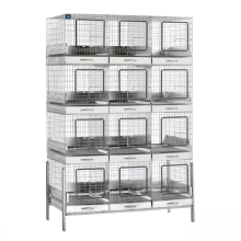 high quality three/four layers rabbit cage easy to install