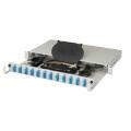 Panneau de raccordement fibre optique 12 ports haute performance