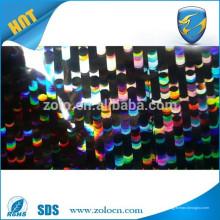 Película holografica holografica / holograma transparente