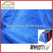 100% Poliéster Súper Soft Coral mantas Fleece para la promoción