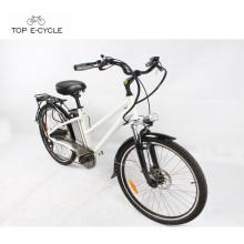 """O verde novo 26 """"CE elétrico da bicicleta da bicicleta da cidade do pneu do kenda / EN15194 aprovou"""