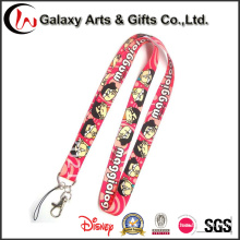 China Wholesale Polyester Cartoon Anime/Pokemon Lanyard Neck Strap