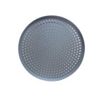 Pantalla de pizza de malla plana de aluminio