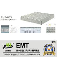 Star Hotel Schlafzimmer Bett Matratze (EMT-MT4)