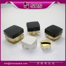 SRS 2015 wholesale square shape luxury hydro face cream jar