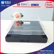 Clear High Quality Fashion Custom Square Acrylic Tray