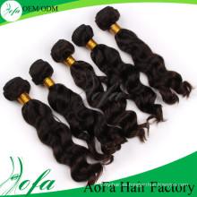 Extensión remy del pelo de Remy del pelo virginal brasileño al por mayor del grado superior