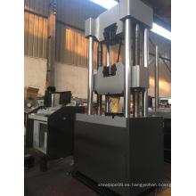 Máquina de prueba extensible de la barra de acero WAW-1000D