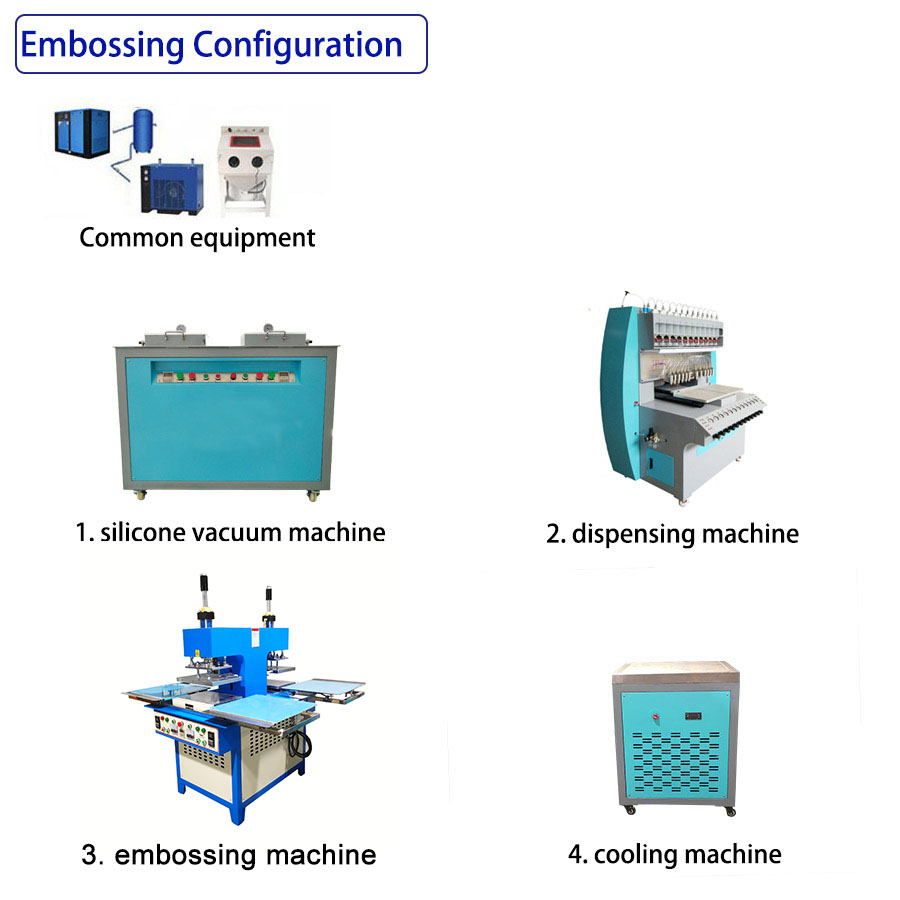 Semi Embossingmachine Line