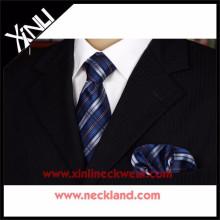 Cravate et mouchoir en soie populaire de nouveau style d'usine
