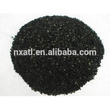 carbón activado con cáscara de coco para purificación de agua y aire (GAC)